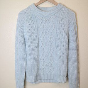 Tommy Hilfiger Baby Blue Knitted Sweater